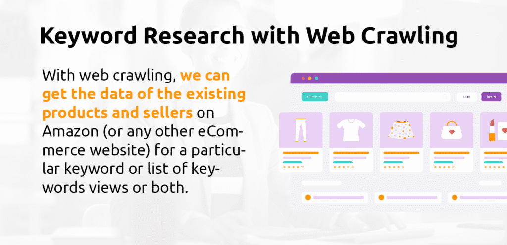 keyword research with web crawling